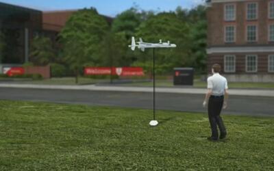 Los burritos caerán del cielo: experimentan entregas a domicilio con drones