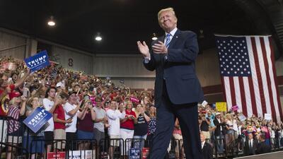 El pasado 3 de agosto, Donald J. Trump habló en un rally con sus simpati...