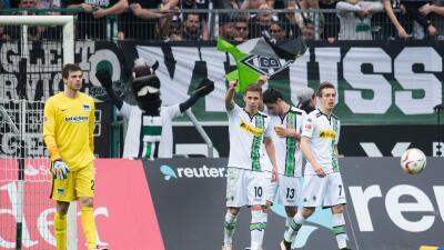 Thorgan Hazard y el Mönchengladbach dejan en evidencia al Hertha