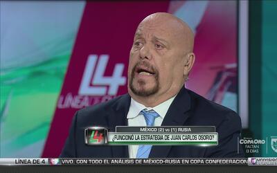 """Opinión de Experto: """"Osorio puso la alineación lógica ante Rusia"""""""