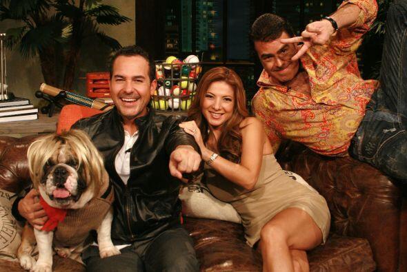 Priscila Ángel visitó a los galanes más perros de la televisión.