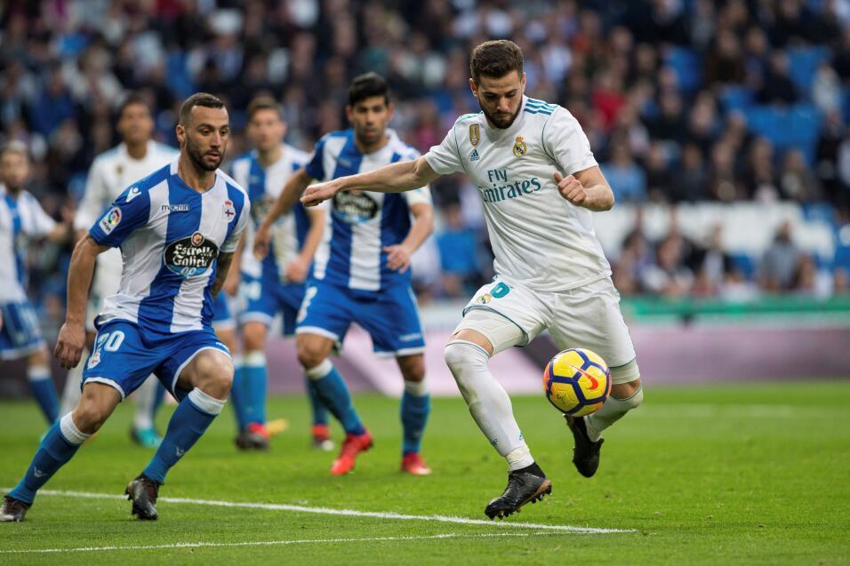 Real Madrid se reencuentra con el gol y aplasta al Deportivo La Coruña 6...