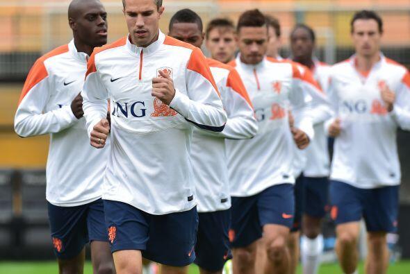 Los integrantes de Holanda están conscientes de la actitud que le pondrá...