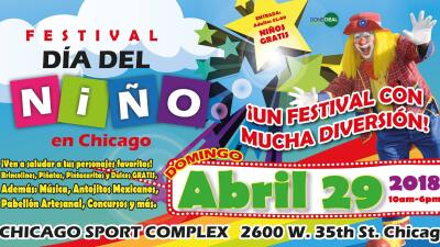 """Chicago celebra el """"Día del Niño"""" con un colorido festival"""