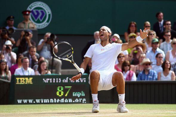 Cuando ganó el match point, Nadal no pudo evitar una de sus maximas expl...