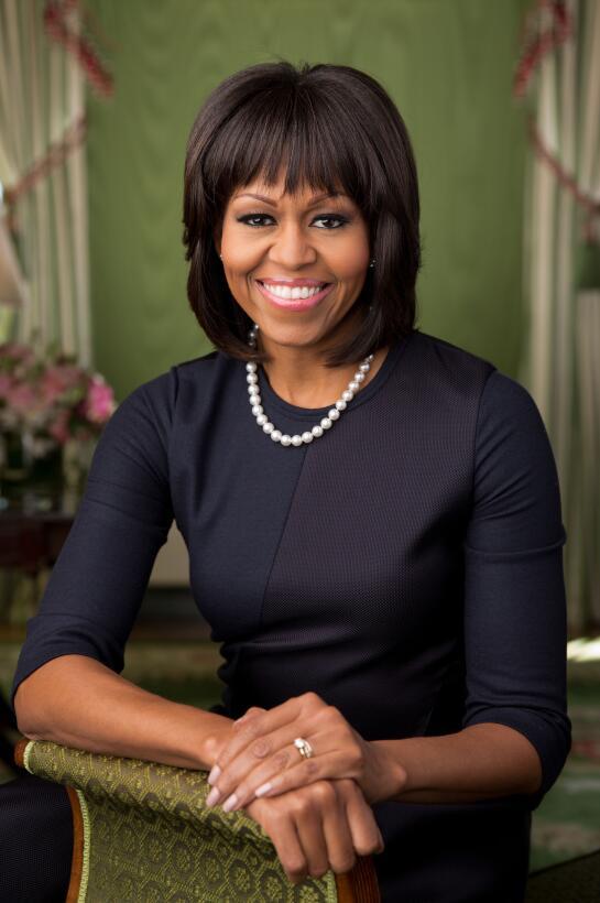 Así fue el retrato oficial de Michelle Obama como primera dama en el seg...