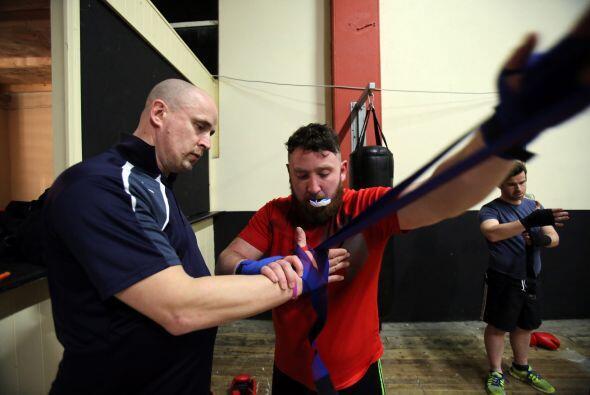 El exjugador de fútbol gaélico se entrenó cinco veces por semana para el...