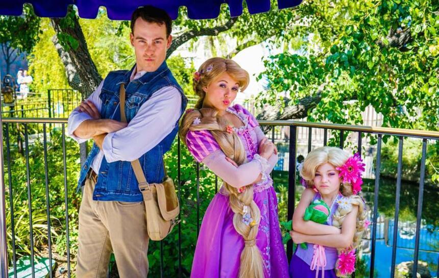 Lleva a tus hijos a Disneylandia para que la pasen como en cuentos