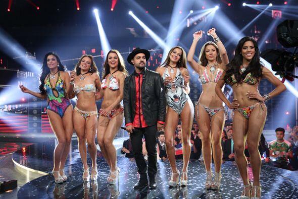 El desfile en bikinis se ha convertido en uno de los momentos más espera...