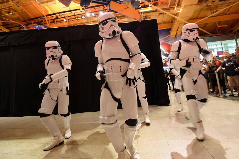 La fuerza de Star Wars ataca NYC