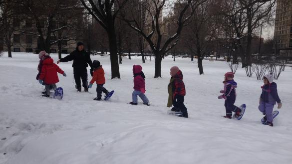 Este domingo a las 7 pm se llevará a cabo una actividad de snow trekking...