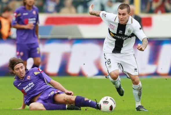 Parma fue a la cancha de la Fiorentina y las cosas no le favorecieron.