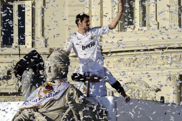 El capitán Iker Casillas fue el encargado de hacerlo.