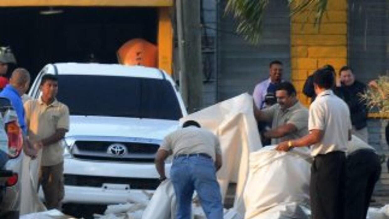 En el penal de Honduras, donde ocurrió el incendio, las autoridades inve...