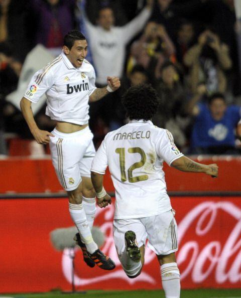 El 'mimado' de Mourinho salió a festejar y los 'merengues' comenzaban ga...
