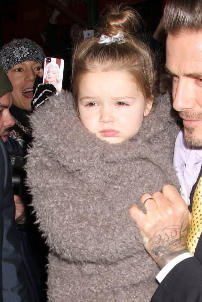 La hermosa hija de los Beckham robó miradas en la Semana de la Mo...