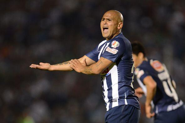 Siguiendo con el norte Humberto Suazo y Osvaldo Martínez tuvieron un alt...