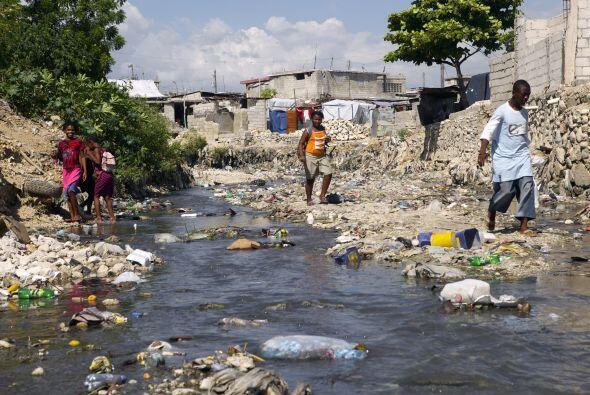 La mayoría de los haitianos simplemente se acostumbraron a la presencia...