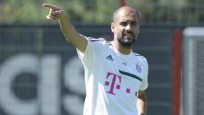 Las expectativas que genera el Bayern de Guardiola han hecho que las ent...