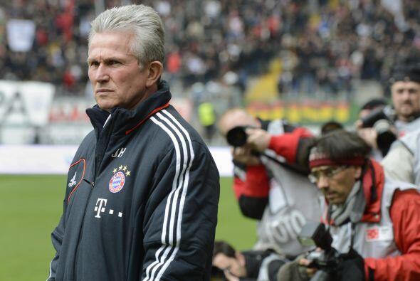 El entrenador Jupp Heynckes veía el título al alcance.