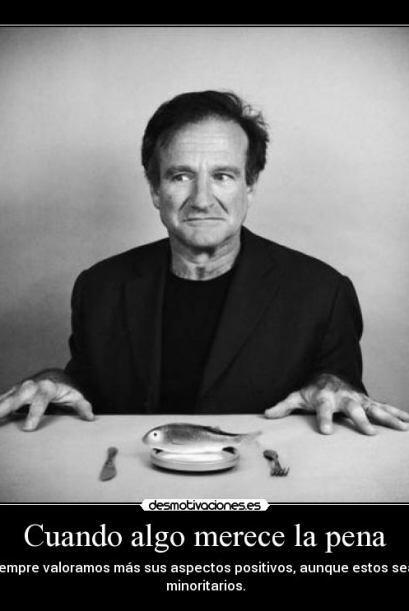 Otra frase de reflección de Robin Williams   Créditos: Twitter/Instagram