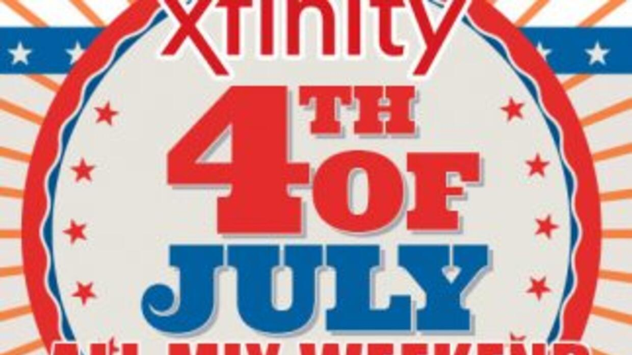 Xfinity 4th of July All Mix Weekend
