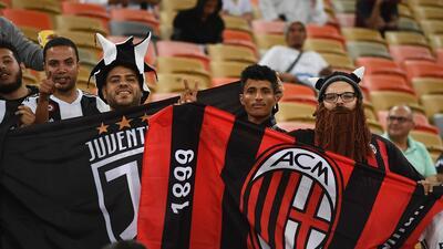Arabia Saudita vive el ambiente de fiesta para la Supercopa de Italia de Juventus y Milán