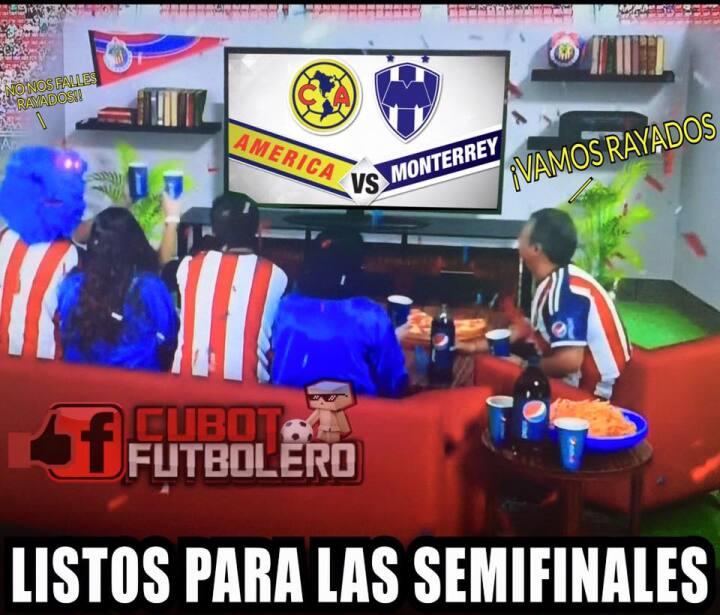 América ganó al Monterrey en la ida de semifinales, las re...