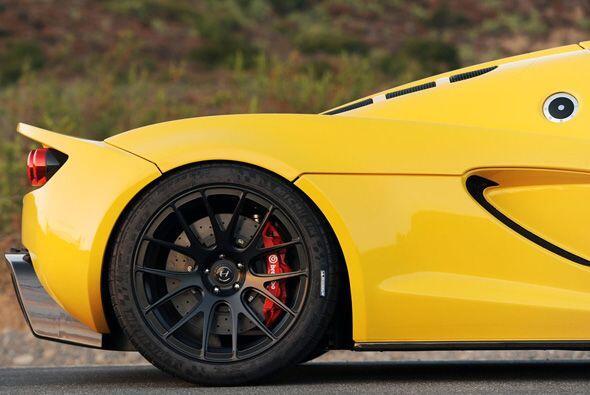 Basado en un Lotus Exige severamente modificado, el VenomGT combina un c...