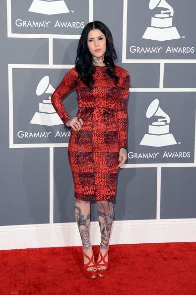 Kat Von D podrá ser una experta en tatuajes pero definitivamente la moda...