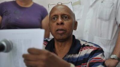 El opositor cubano Guillermo Fariñas afirmó que insistirá en la huelga d...