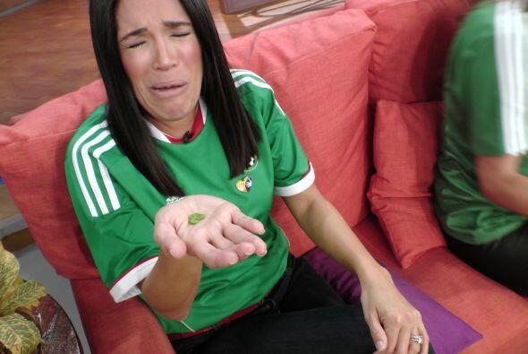 Karla terminó muy triste con esta predicción.