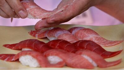 Comió 100 platos de sushi y ahora le niegan la entrada a un restaurante 'All you can eat'