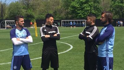 F2Freestylers, David Villa y Andrea Pirlo.