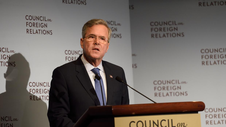 El republicano Jeb Bush.