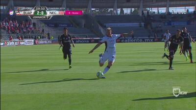 ¡Uno más de Leo Ramos! Ya 2-0