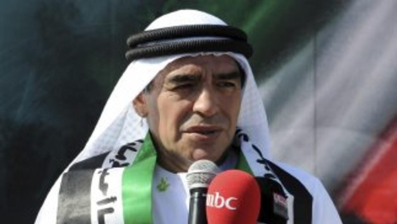 Maradona celebró así el 42 aniversario de la Independencia de los Emirat...