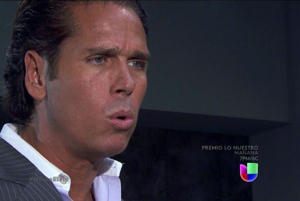 Esa cara es de puro miedo Renzi, se ve que la presencia del señor Peralt...