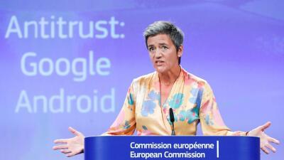 """Multa récord a Google: debe pagar más de $5,000 millones por """"prácticas ilegales"""" con Android en la UE"""