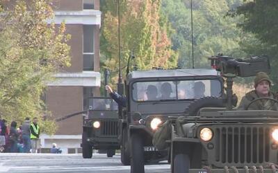 En Georgia se celebró el Día de los Veteranos, un homenaje a las Fuerzas...