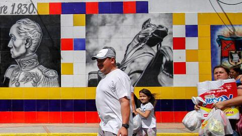 Según el gobierno colombiano, unos 35,000 venezolanos cruzaron la...