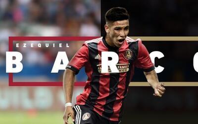 Ezequiel Barco, nuevo fichaje de Atlanta United FC.