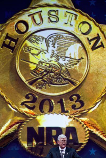 Este fin de semana la Asociación Nacional del Rifle se reunió en Houston...