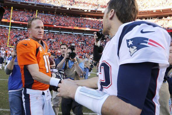 .15.- 19 de enero del 2014 - Tom Brady y Peyton Manning se enfrentaron p...