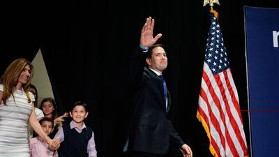 Comienza la pelea por los delegados de Marco Rubio