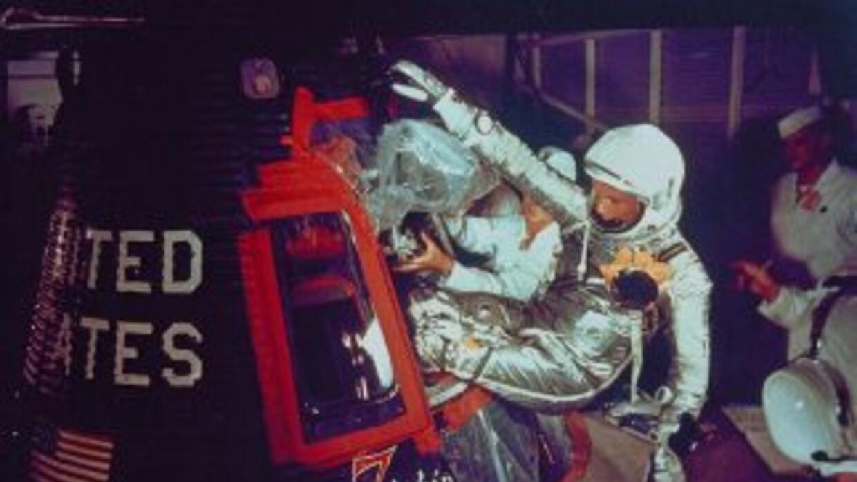 El 20 de febrero de 1962 John Glenn viajó al espacio en la cápsula 'Frie...