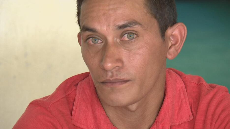 Andrés quería migrar para ayudar a su mamá, a su hermana y a su hija.
