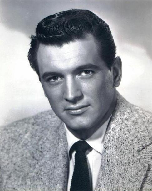 Rock Hudson fue de los galanes más famosos de Hollywood durante varias d...