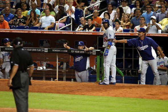El pitcher de los Miami Marlins,  José Fernández, se robó el show  duran...