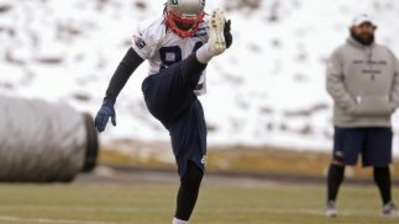 Deion Branch fue MVP del Super Bowl XXXIX con los Patriots (AP-NFL).